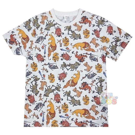 JP x RT  - All Over Printed Tee x Lion King (Unisex)