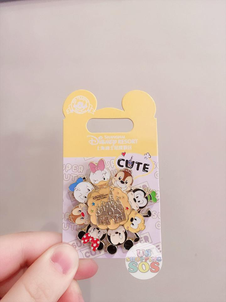 SHDL - Super Cute Mickey & Friends Collection - Pin