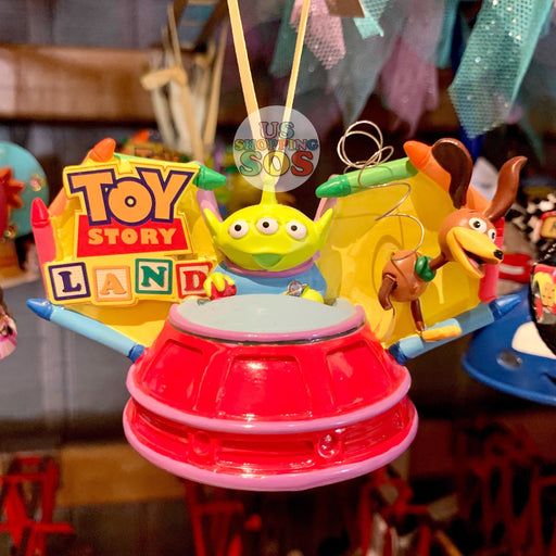 DLR - Ear Hat Hand Printed Ornament - Attraction Toy Story Land
