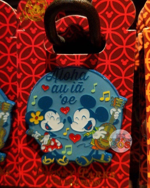 "Aulani - Exclusive Pin - Mickey & Minnie are Singing ""Aloha au iā 'oe"""