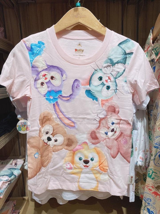 HKDL - Unisex Tee x Duffy and Friends with CookieAnn