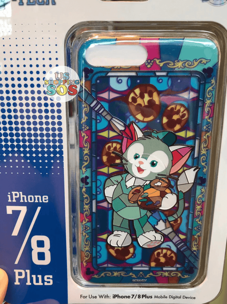 HKDL - iPhone Case Stained Glass Collection - Gelatoni