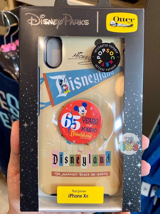 DLR - Disneyland Park 65th Anniversary - Otter Box Pop Sockets Case - iPhone XR