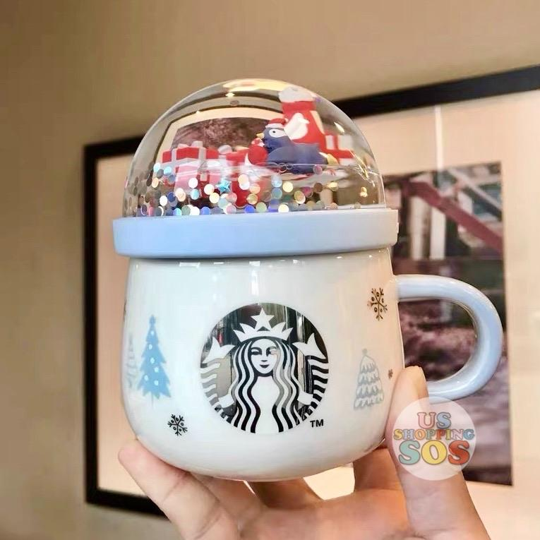 Starbucks China - Christmas Wave - 325ml Christmas Party Snow Globe Mug