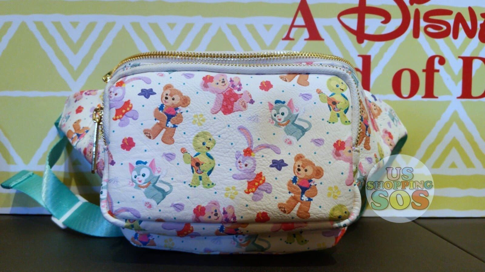 Aulani - Aloha Sunny Day Collection - Loungefly x All Over Print Fanny Bag