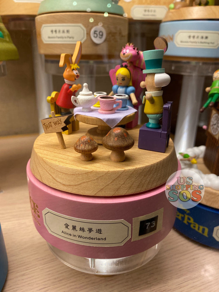 HK Disney Local License Collection- Music Box x Alice in the Wonderland