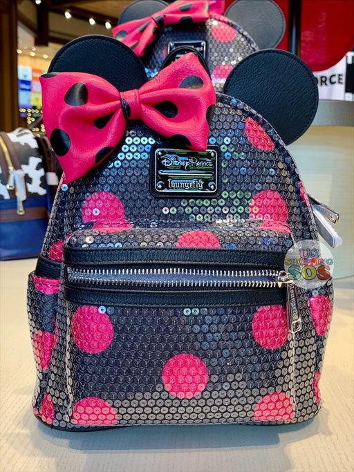 DLR - Minnie Style Icon - Loungefly Minnie Sequin Backpack