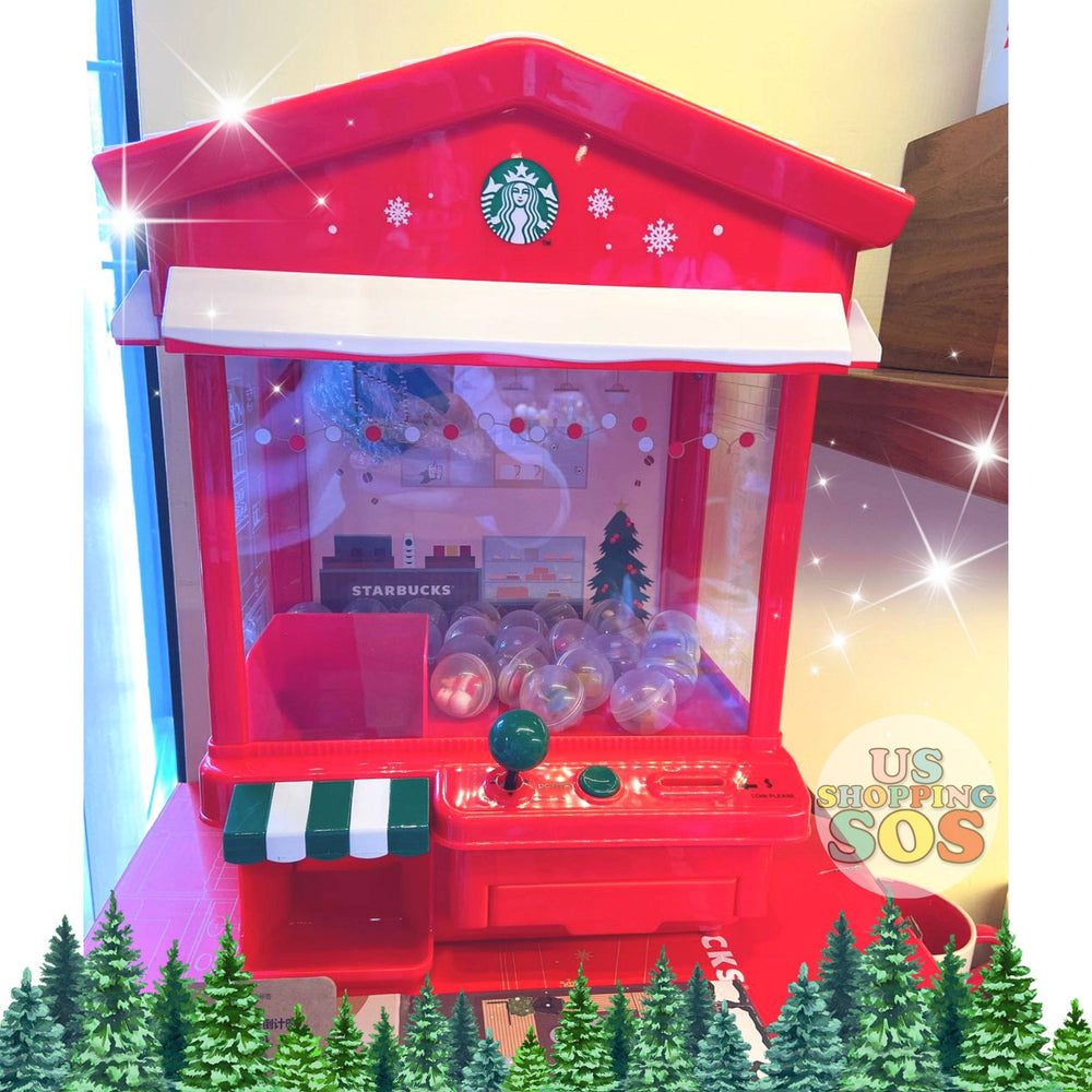 Starbucks China - Christmas Wave - Christmas Mini Claw Game Machine