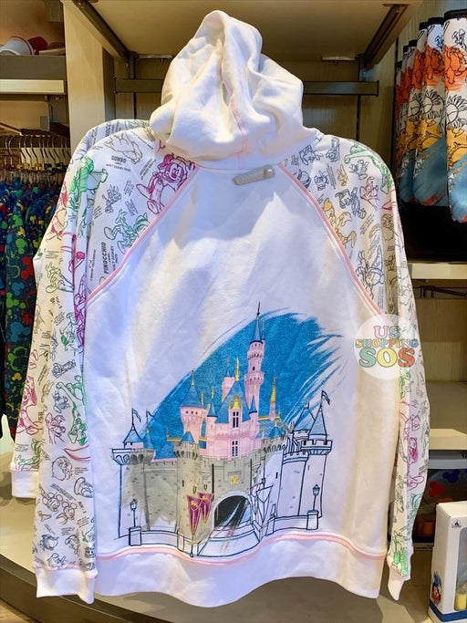 DLR - Ink & Paint - Castle All-Over-Print Hoodie Jacket (Adult)