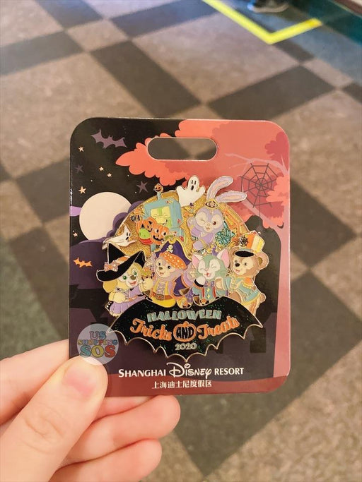 SHDL - Duffy & Friends Halloween 2020 Collection - Limited 800 Pin