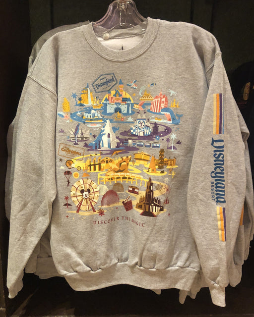 DLR - Discover the Magic Sweatshirt (Grey)