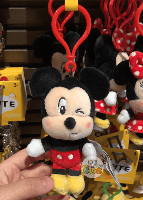 SHDL - Super Cute Mickey & Friends Collection - Plush Keychain x Mickey Mouse