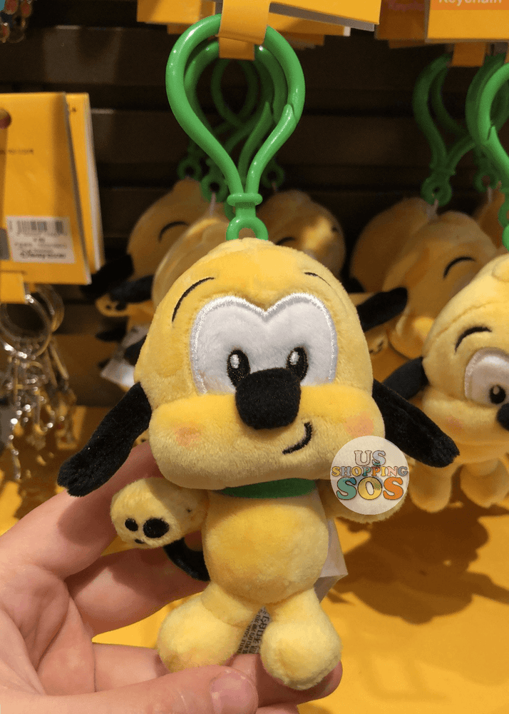 SHDL - Super Cute Mickey & Friends Collection - Plush Keychain x Pluto