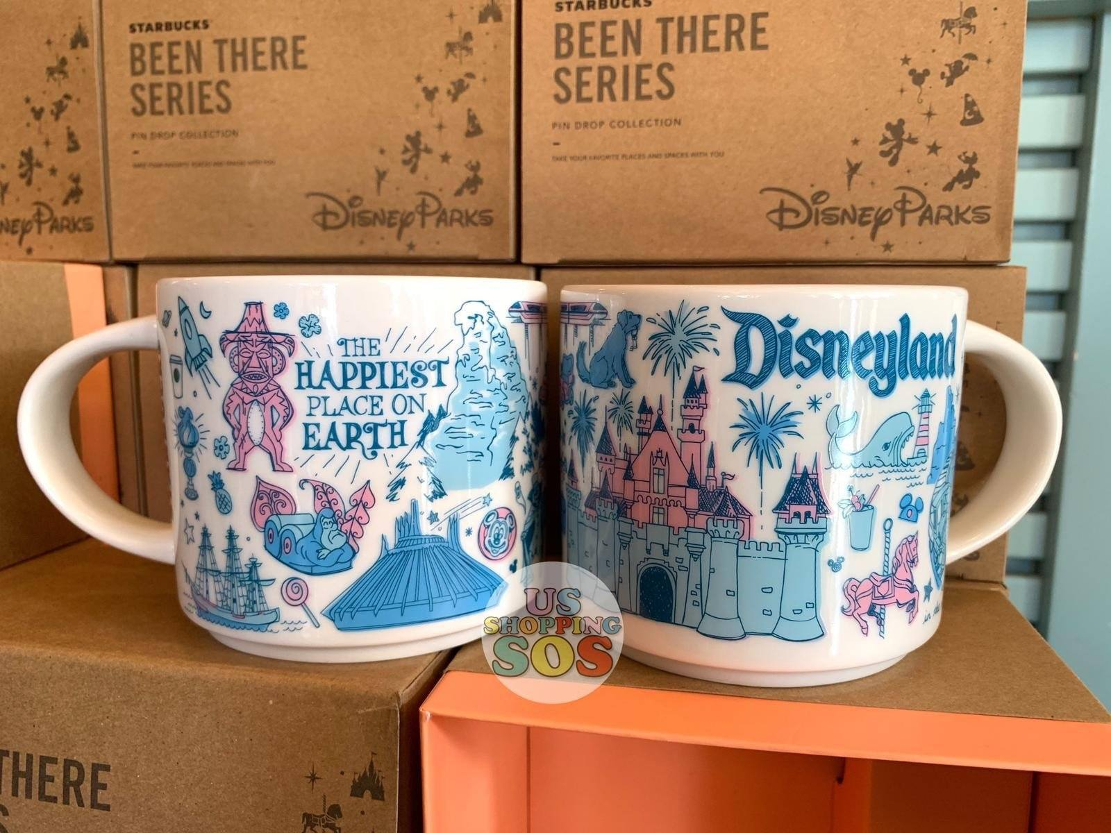 DLR - Starbucks x Disneyland Park Been There Series Mug