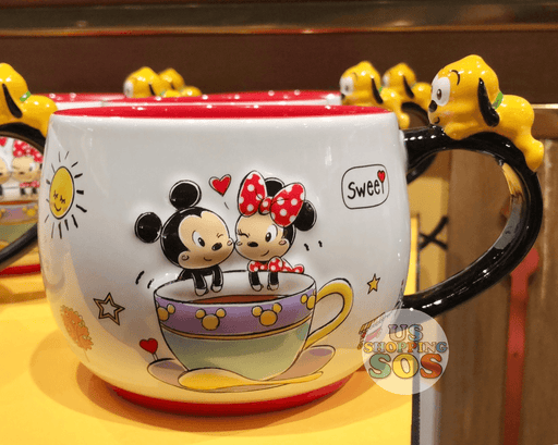 SHDL - Super Cute Mickey & Friends Collection - Mickey, Minnie & Pluto Mug