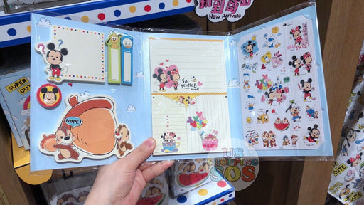 SHDL - Super Cute Mickey & Friends Collection - Sticky Note & Stickers Set