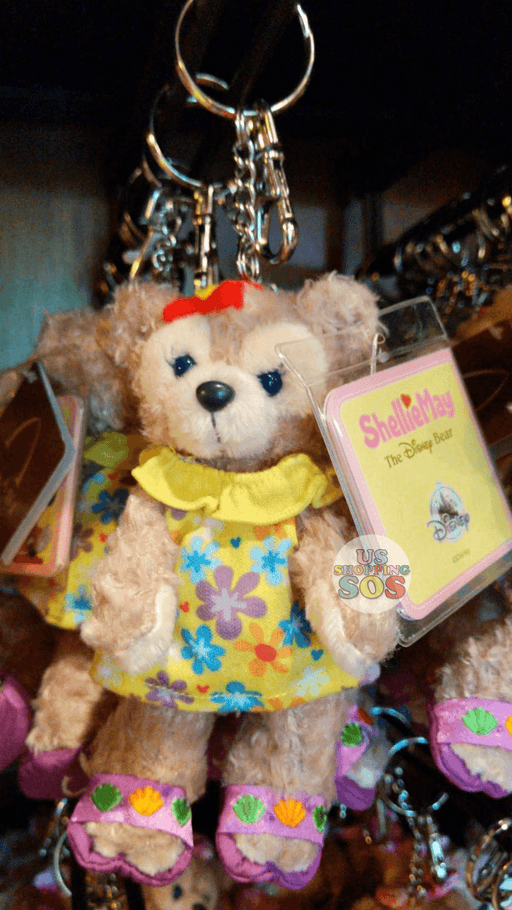 Aulani - Shelliemay in Floral Yellow Dress Plush Keychain