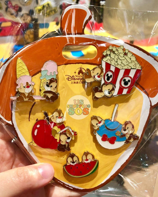 SHDL - Super Cute Chip & Dale Collection - Pins Set