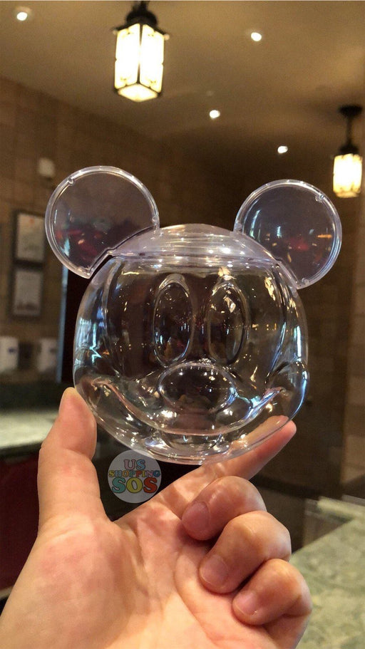 SHDL - Mickey Mouse Head Sip Sip Plastic Cup
