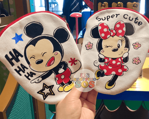 SHDL - Super Cute Mickey & Friends Collection - Small Pouch x Mickey & Minnie