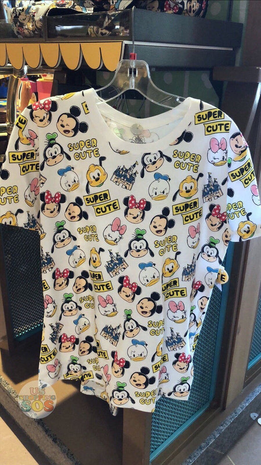 SHDL - Super Cute Mickey & Friends Collection - All-Over-Print Tee (Unisex)