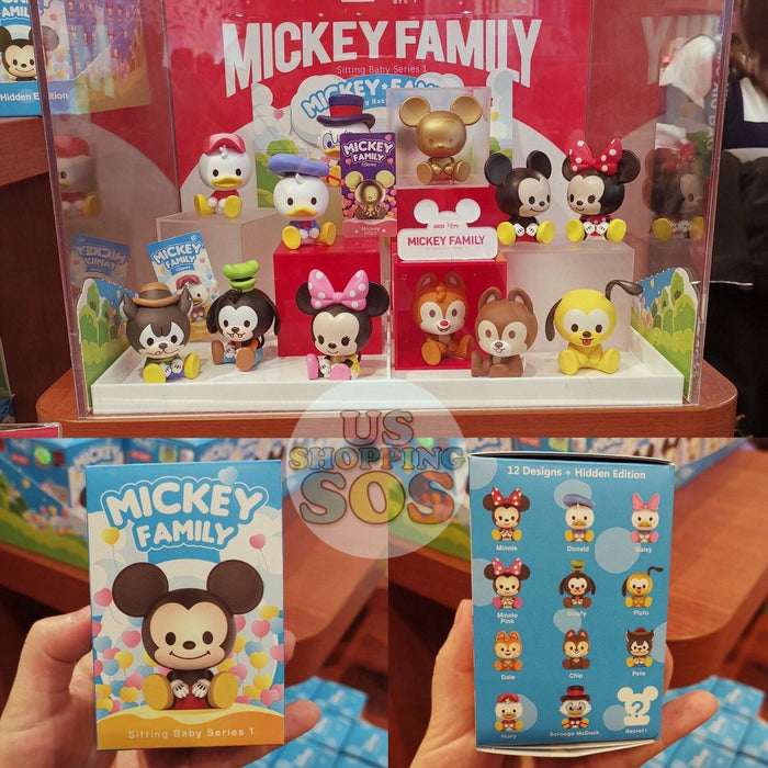 SHDS - Mickey Family Sitting Baby series# 1 Mystery Box