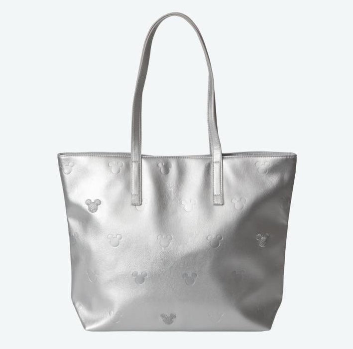 TDR - Tote Bag x Multiple Mickey Mouse Heads (Silver)