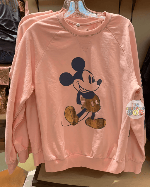 "DLR - ""Disneyland"" Mickey Mouse Spirit Jersey - Rose Gold"