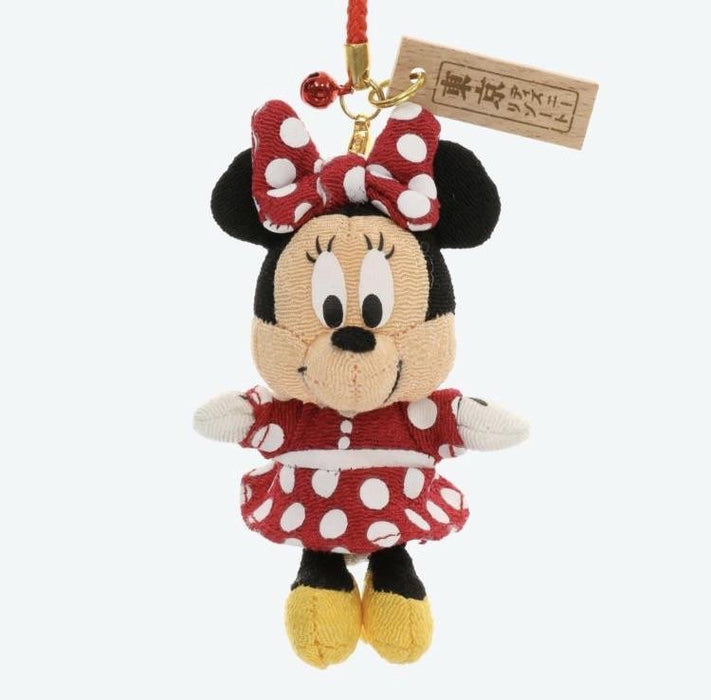 TDR - Japan Style Plush Keychain - Minnie Mouse