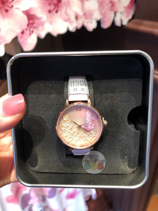 HKDL - Watch x Minnie Mouse & Cherry Blossom