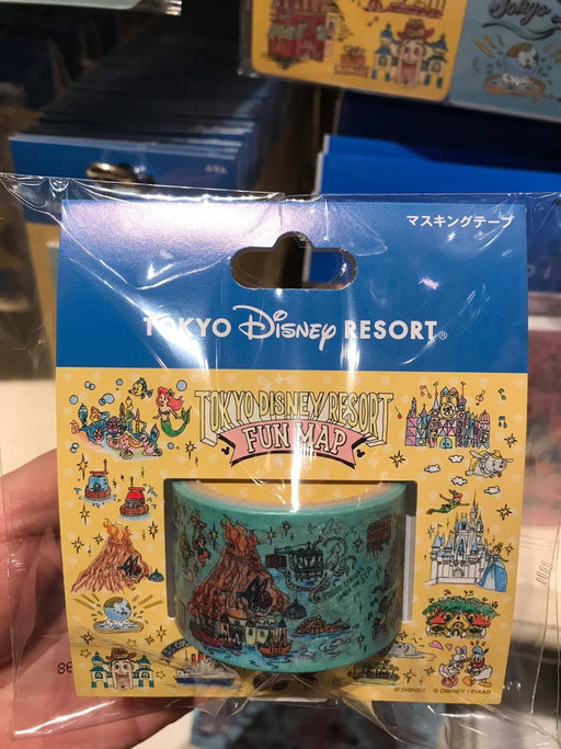 TDR - Tokyo Disney Resort Fun Map Collection - Decoration/Masking Tape