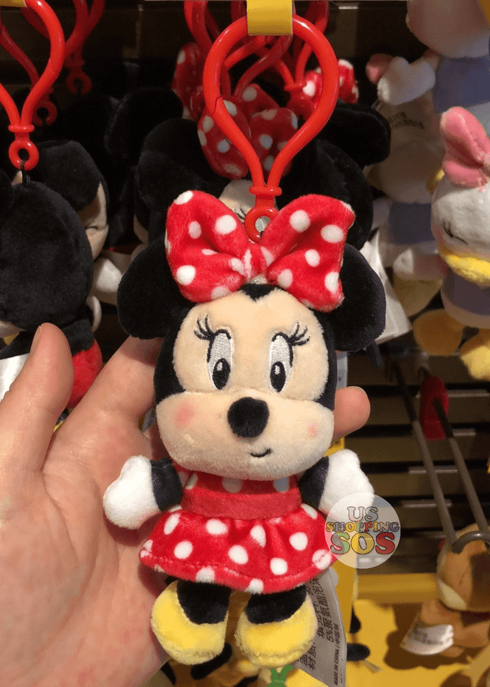 SHDL - Super Cute Mickey & Friends Collection - Plush Keychain x Minnie Mouse