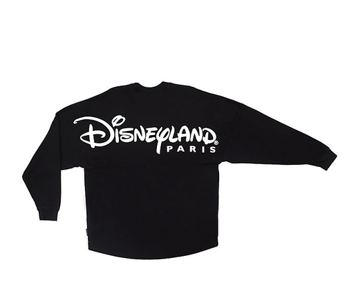 Paris Disneyland - Black Spirit Jersey for Adults