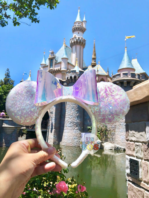 DLR - Minnie Sparkly Iridescent Sequin Headband