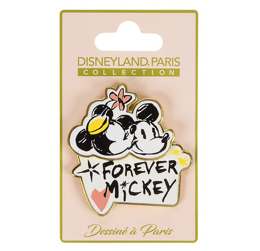 Paris Disneyland - Mickey and Minnie Forever Pin