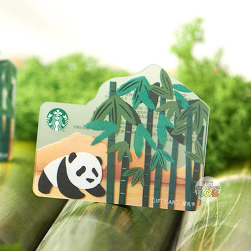Starbucks China - Bamboo Panda - Gift Card (No Cash Value)