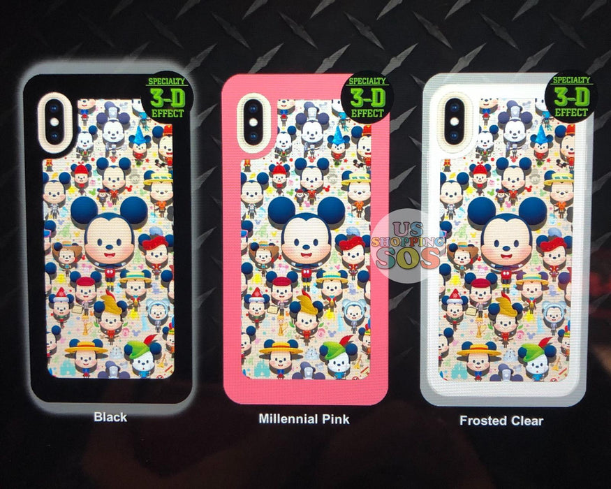 DLR - Custom Made Phone Case - So Many Mickeys by JMaruyama (3-D Effect)