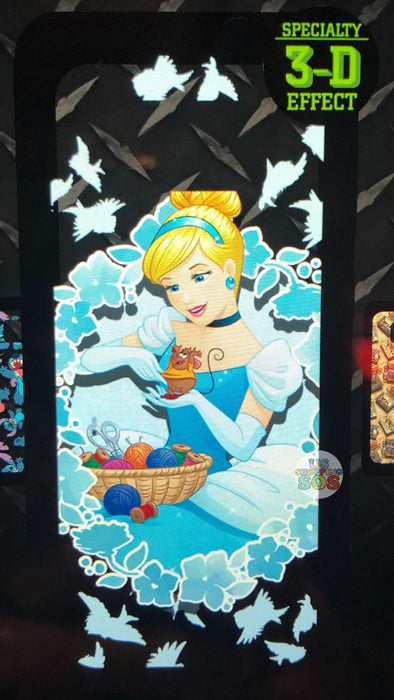 DLR - Custom Made Phone Case - Princess with Friends - Cinderella & Gus (3-D Effect)