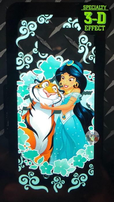 DLR - Custom Made Phone Case - Princess with Friends - Jasmine & Rajah (3-D Effect)