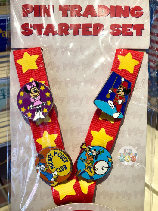 DLR - Pin Starter Set - Mickey Mouse Club