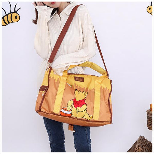 Taiwan Exclusive - Disney Winnie the Pooh Honeypot Foldable Multifunctional Travel Bag