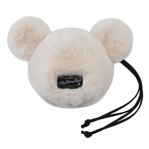 TDR - Fluffy Snow White - Mickey Icon Pouch/Wristlet