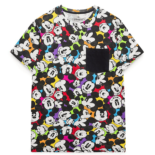 Paris Disneyland - All-Over Mickey T-Shirt for Adults - Colour Spot Collection