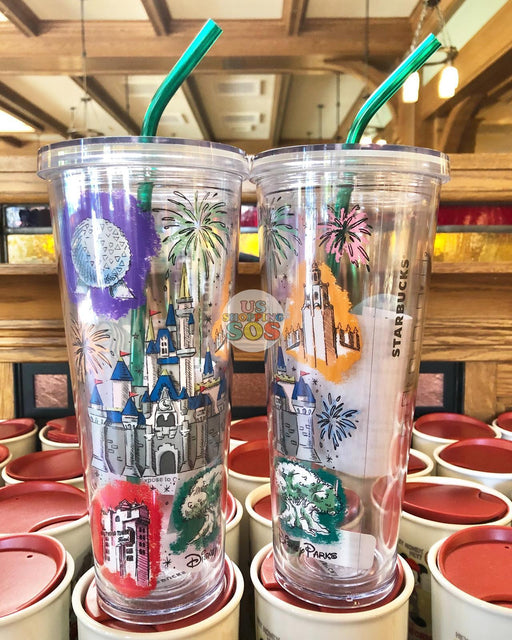 DLR - Starbucks x Disney Parks Cold Cup Tumbler (2019)
