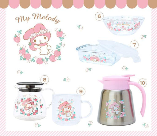 Japan Exclusive - My Melody x Brunch time with kitchen series glass tableware -