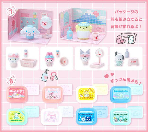 Japan Sanrio - Hot Spring Collection - Memo Pad with Case x