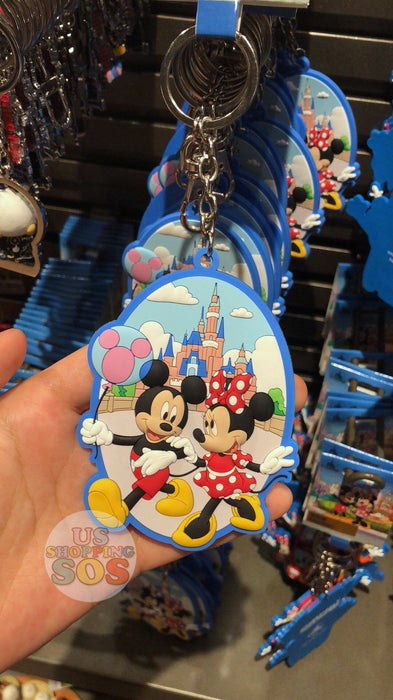 SHDL - I Mickey SH Collection - Keychain x Mickey & Minnie Mouse