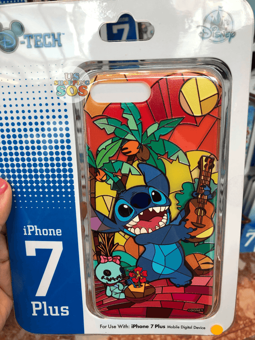 HKDL - iPhone Case Stained Glass Collection - Stitch
