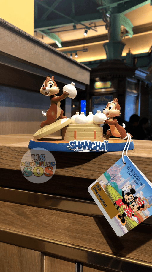 SHDL - I Mickey SH Collection - Chip & Dale Decoration