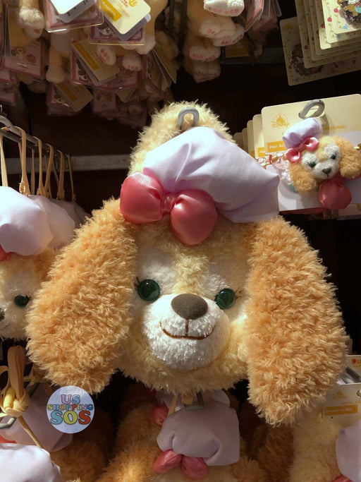 HKDL - Duffy's New Friend - Cookie Plush 2 ways bag